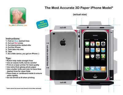 Как сделать айфон 7 из бумаги без  545