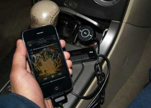 Griffin FM Transmitter for iPhone