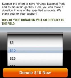 iGorilla Donate