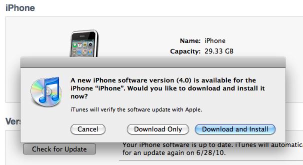 iOS4 Now Available