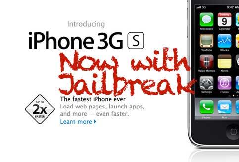 iPhone 3GS Jailbreak