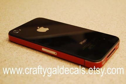 iPhone 4 Antenna Decal on Etsy