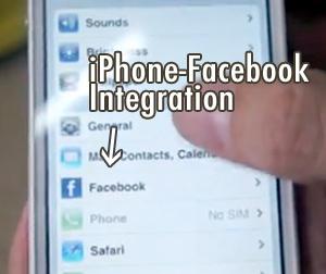 iPhone Facebook Integration