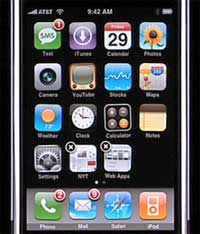 iPhone Web Clips