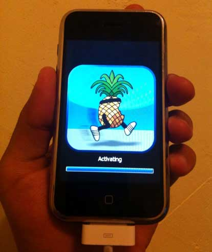 iPhone Jailbreak activating