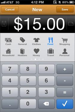 MoneyBook New Transaction