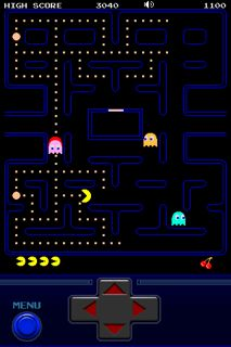 Pac-Man iPhone game