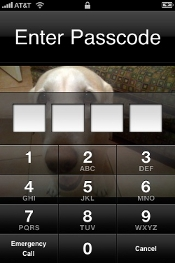 iPhone Passcode Lock