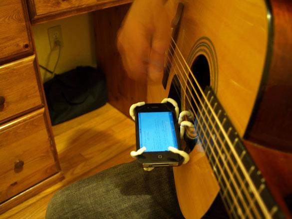 Spider Podium Guitar