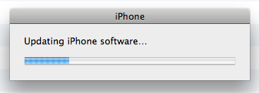 Updating iPhone Software