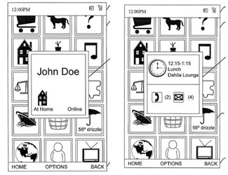 Zune Phone Patent