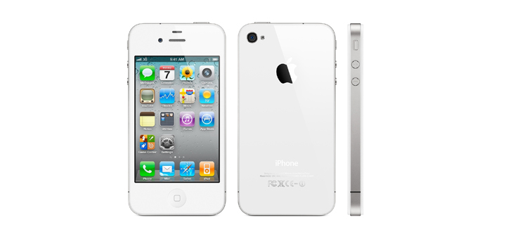 White iPhone