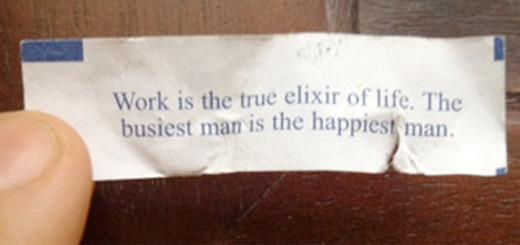 Work Fortune Cookie