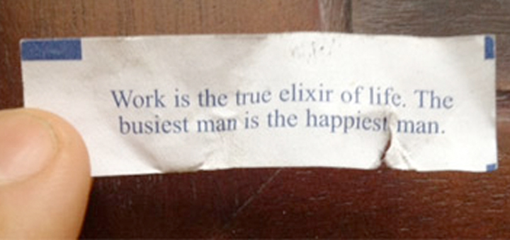 Work Fortune Cookie