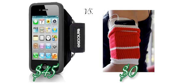 DIY iPhone Armband