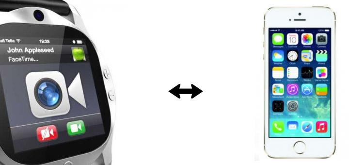 iWatch iPhone Integration